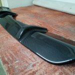 Zadní difuzor – carbon 3D v lesklém laku.